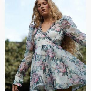 SELKIE English Garden Macaron Dress
